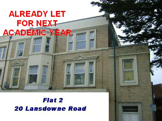Click on this picture for details of Flat 2 Lansdowne Road