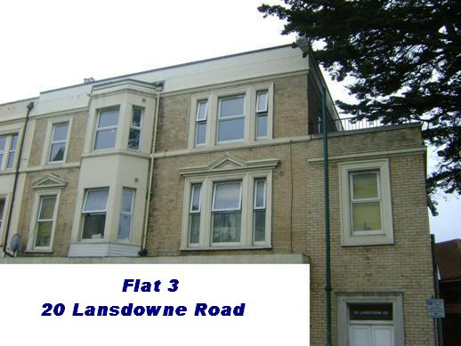 Click on this picture for details of Flat 3 Lansdowne Road